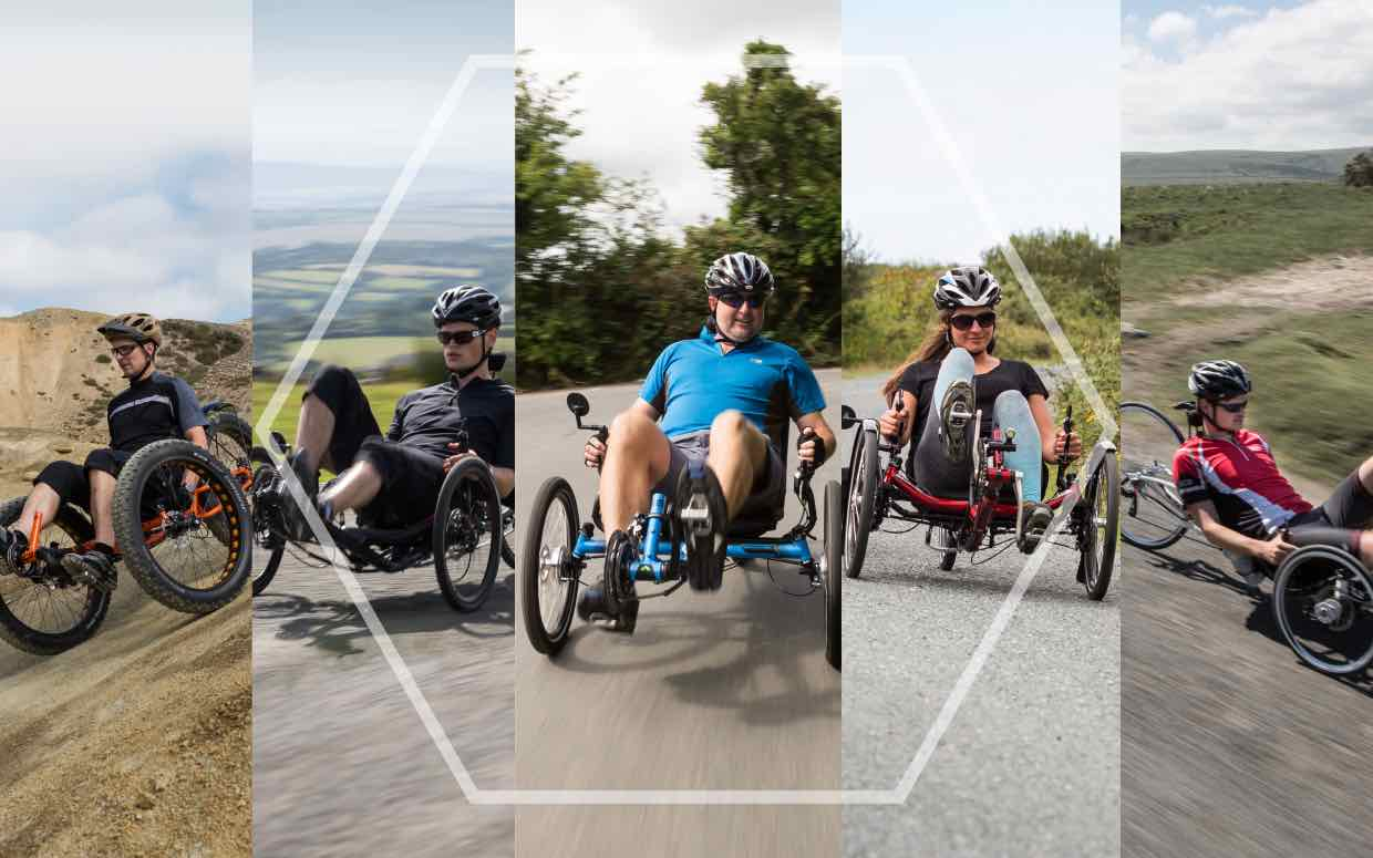 The ICE Recumbent Trike Range